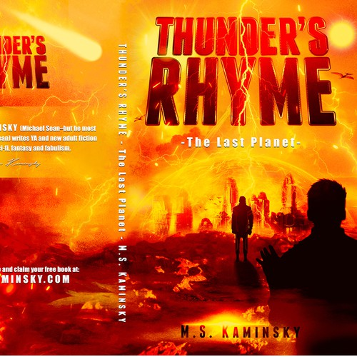 Book Cover for Thunder's Rhyme