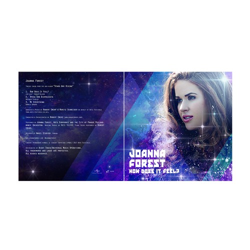 Joanna Forest cover album