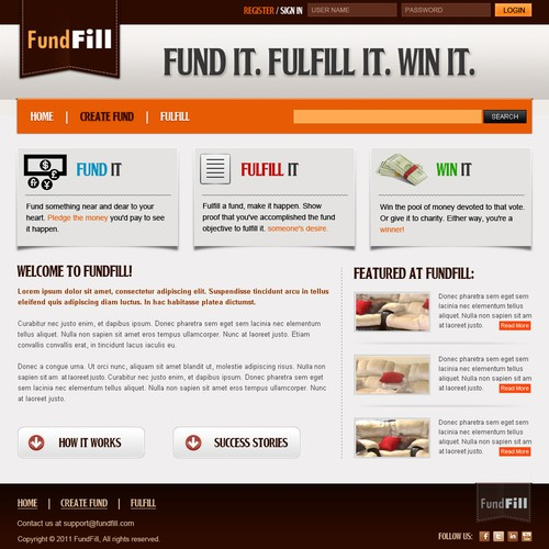 Fundfill