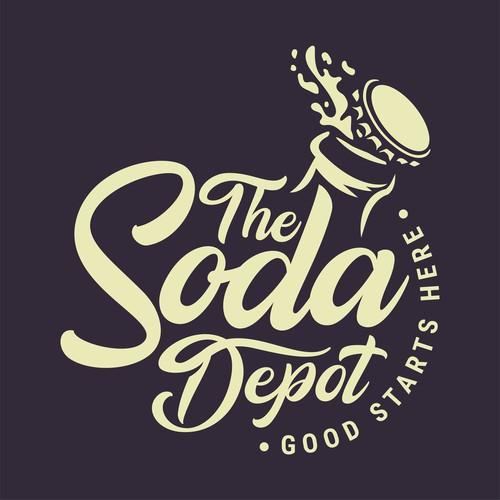 Logo design done for a Soda Depot