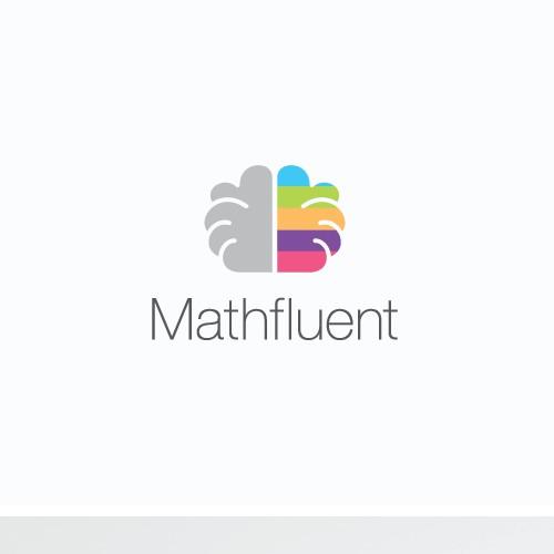 Mathfluent logo and business card