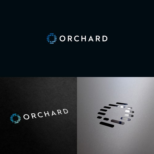 Abstract letter O logo