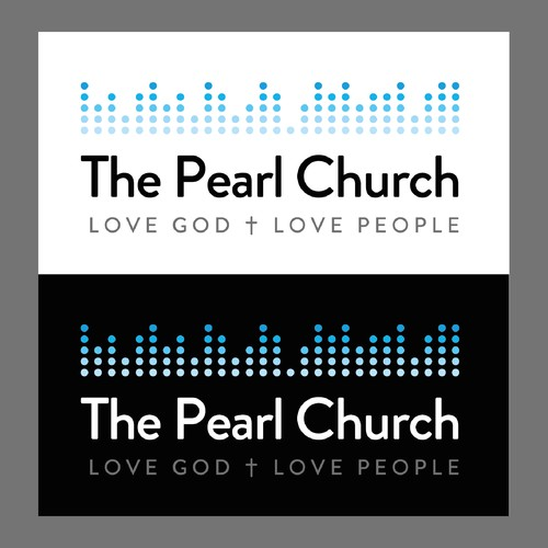 Logo design concept for the Pearl Church in Colorado.