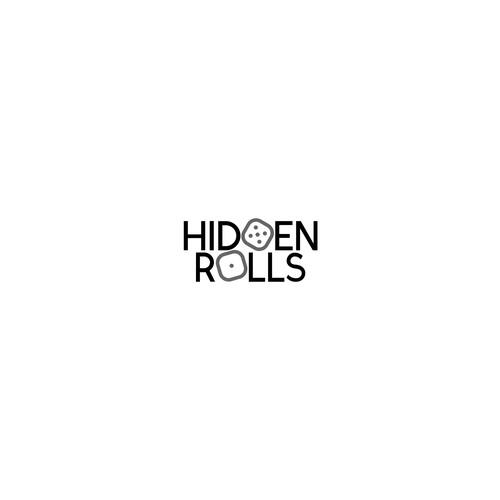 "Logo concecp for board game website ""Hidden Rolls"""