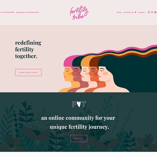 Web Design & Branding for Women's Start-Up