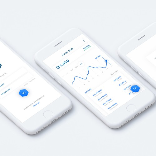 UI of a Simple Payment App
