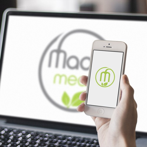Create a fresh and healthy logo for a meal delivery company!