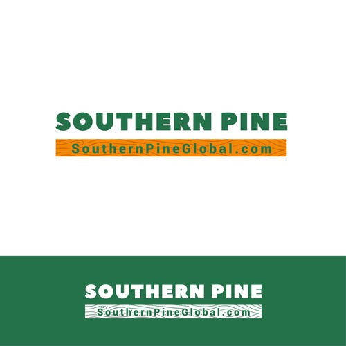 Logo for pine lumber company