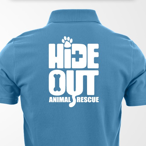 HideOut Animal Rescue - Logo Design