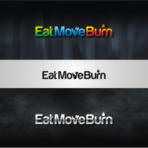 Create Logo for the future market leader in Nutrition and Fitness: Eat.Move.Burn