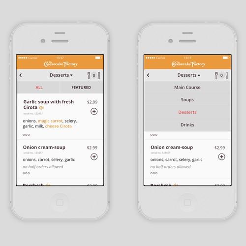 4-Star Restaurant: Exciting Mobile Web Application Design