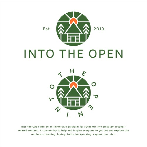 into the open