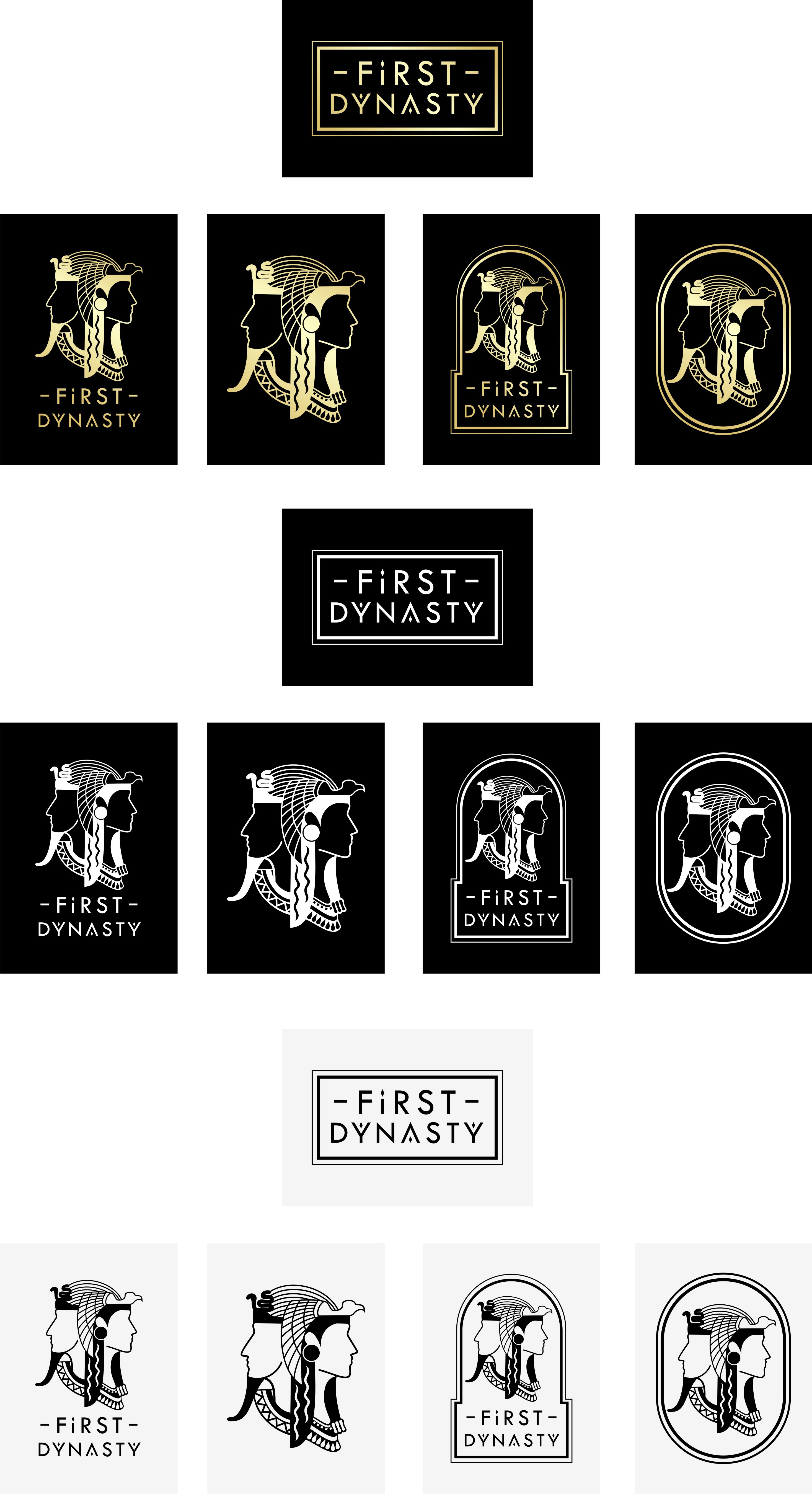FIRST DYNASTY APPAREL needs a POWERFUL Egyptian concept LOGO DESIGN