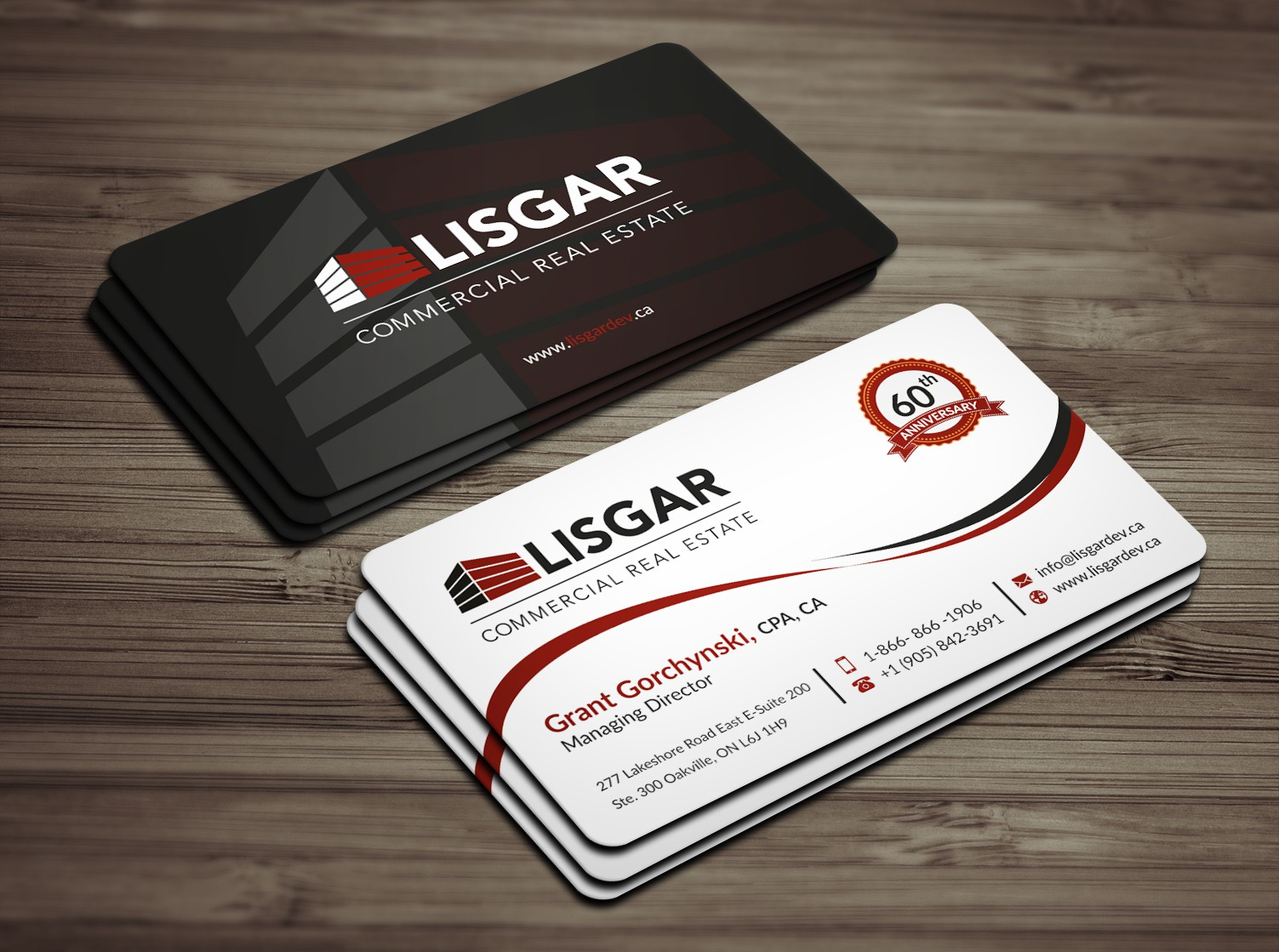 COMMERCIAL REAL ESTATE ENTERPRISE - Looking for fresh new business card for 60th year in business