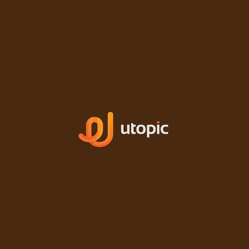 Logo concept for u topic