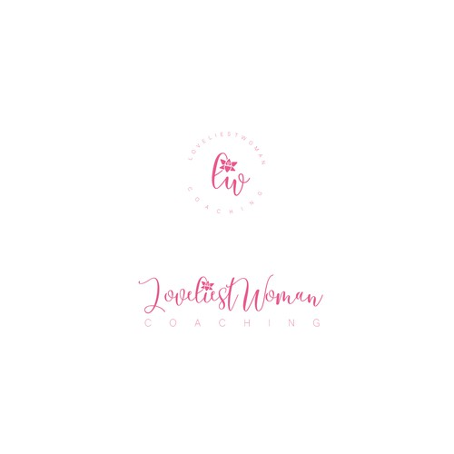 Create soft, elegant and beautiful logo for LoveliestWoman Coaching