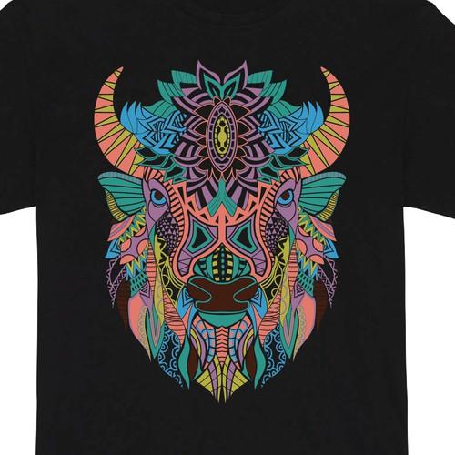 Buffalo ethnic style
