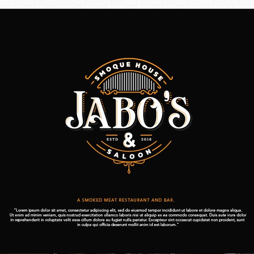 Logo for Jabo's Smoque House & Saloon