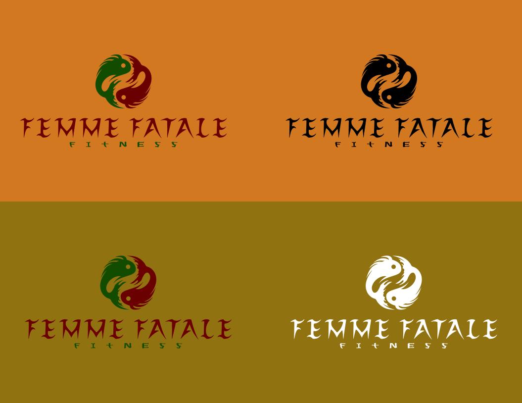 logo for Femme Fatale Fitness