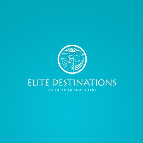 Logo concept for a travel boutique-type company.