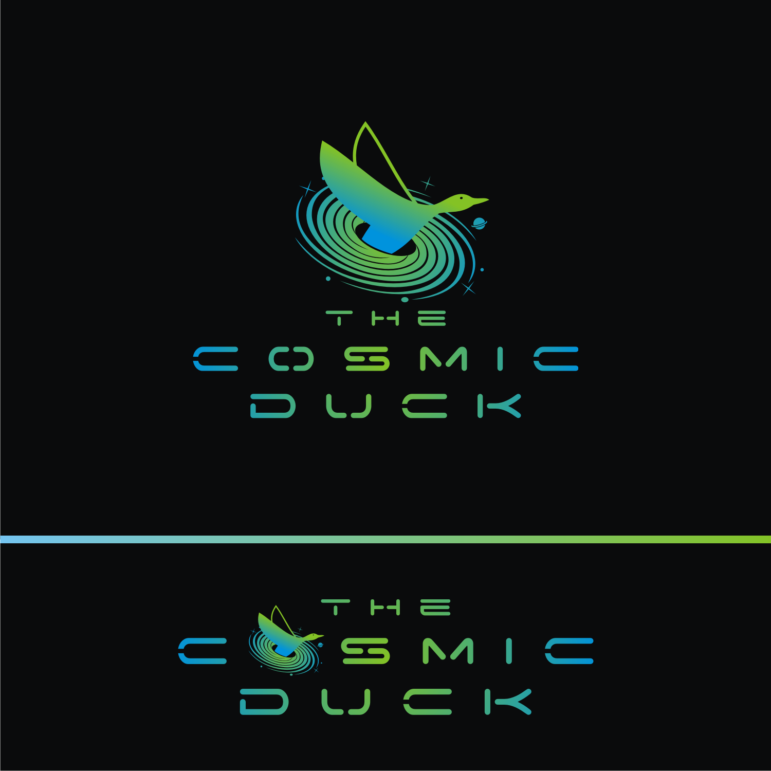 """DJ/Music Producer looking for an artist logo as """"The Cosmic Duck"""""""