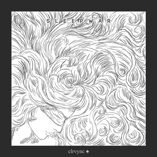 Sleepwar album rough sketch