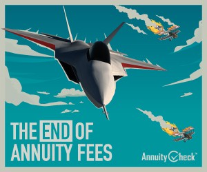 stunning poster needed to illustrate that fees are outdated