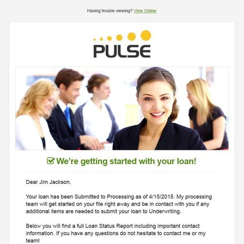 Email Design - Mortgage Status Alert Email
