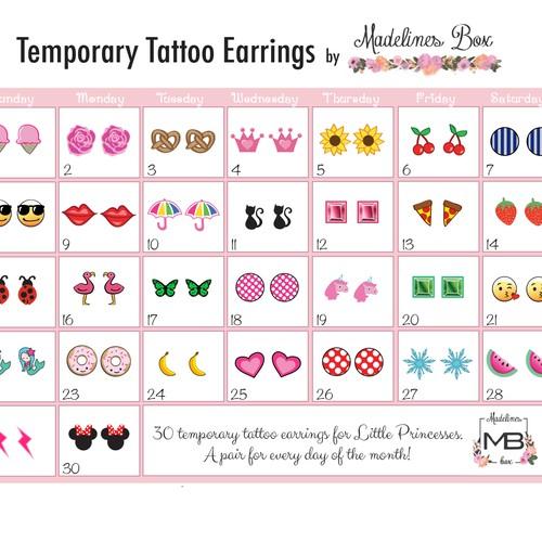 Temporary Tattoo Graphics