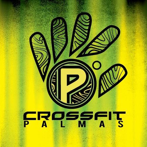 Create a cool and attractive logo for CrossFit Palmas