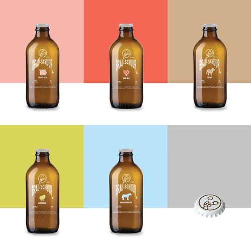 Brau-Schüür - Beer Labels