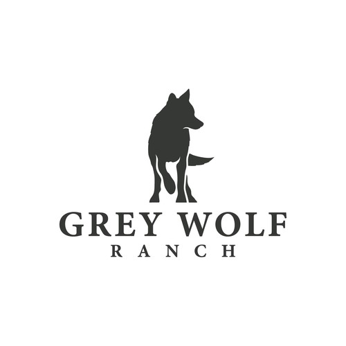 Logo for Grey Wolf Ranch