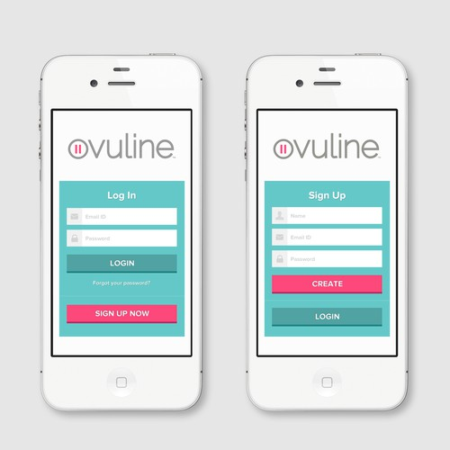 Mobile App Design for Women's Health Company