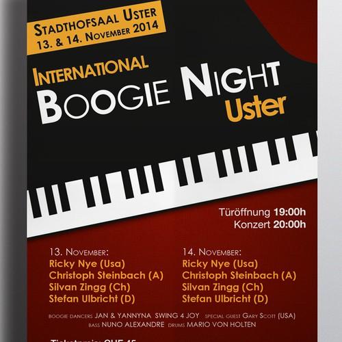 New design (Flyer & Poster) for a piano festival - Neue Flyer und Plakate für ein Klavier-Festival.