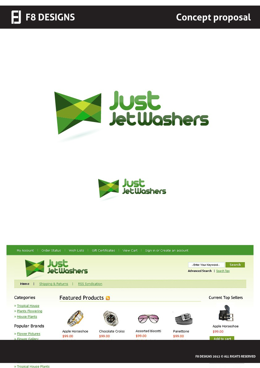 Just Jet Wshers needs a new logo