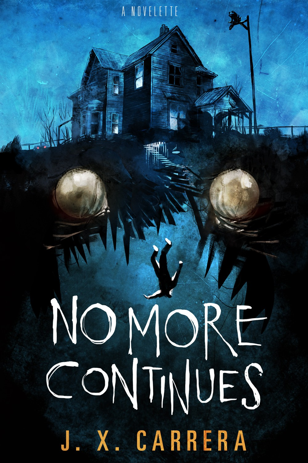 Create Horror Book Cover (with 1990s video game nostalgia)