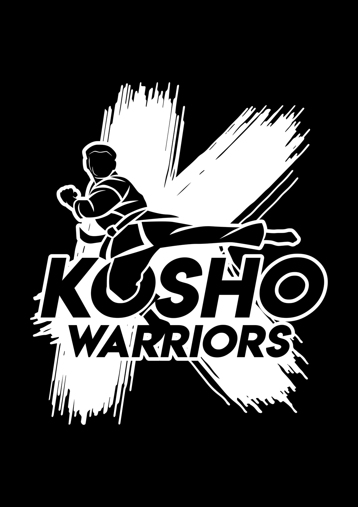 "tournament team logo  ""Kosho Warriors"""