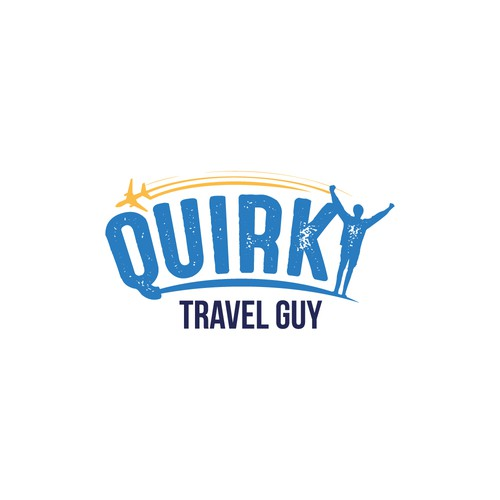 Logo Quirky Travel Guy