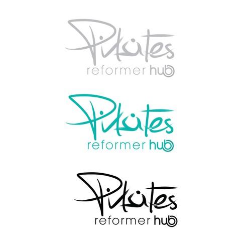 Create a logo for Pilates Reformer Hub