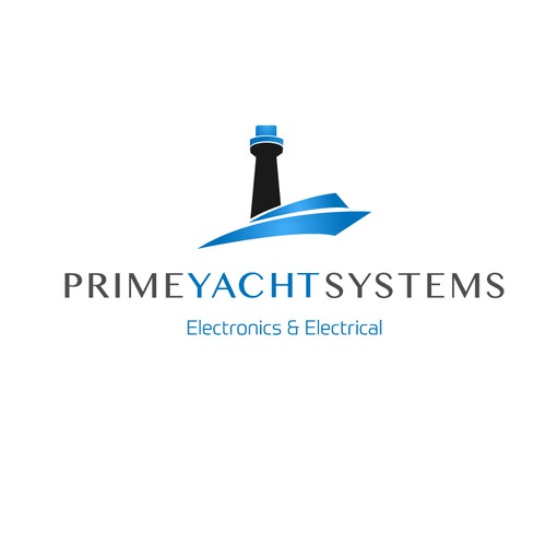 Create an awesome brand for a high end provider of private yacht systems.
