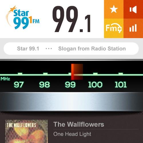 App Re-design  for Broadcast Radio FM+