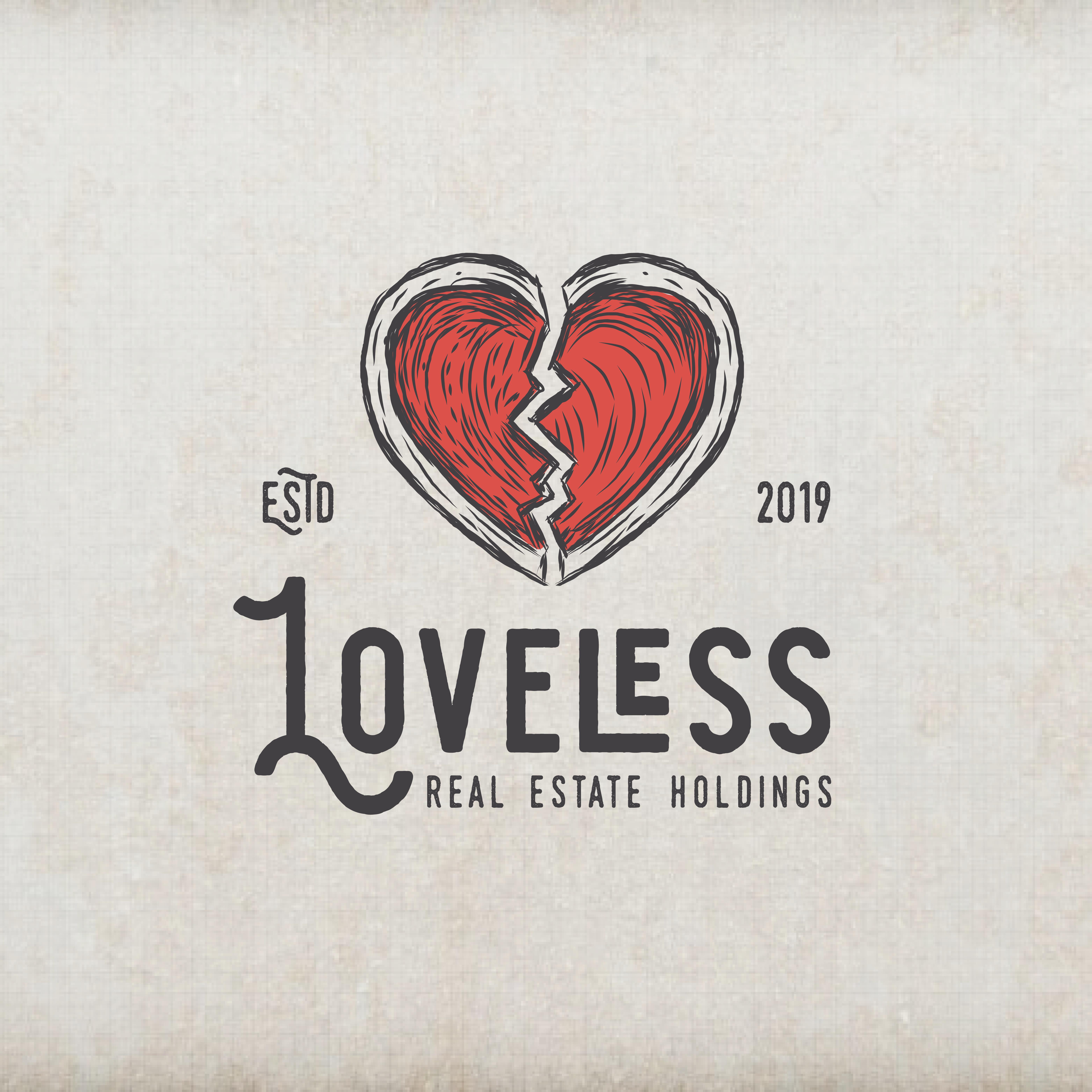 Create a stunning and fun 1930's cartoon logo for Loveless Holdings