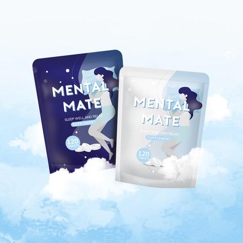 Mental Mate Pack Design