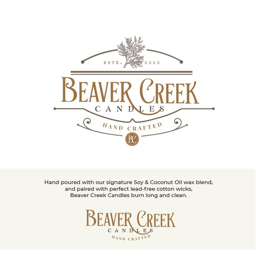 Logo design for Beaver Creek Candles
