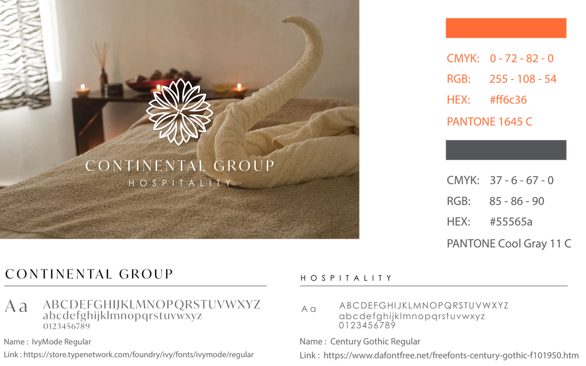 New logo for Continental Group Hospitality