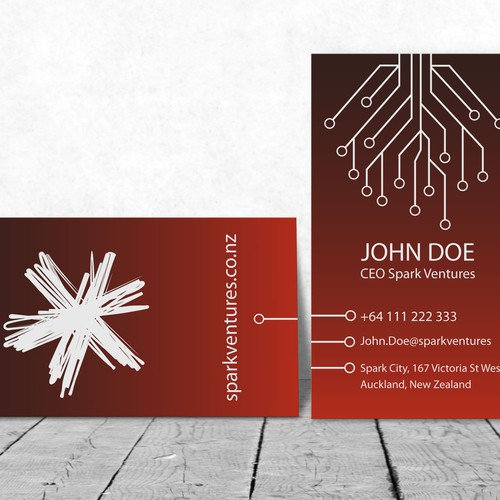 Electronics Business Card