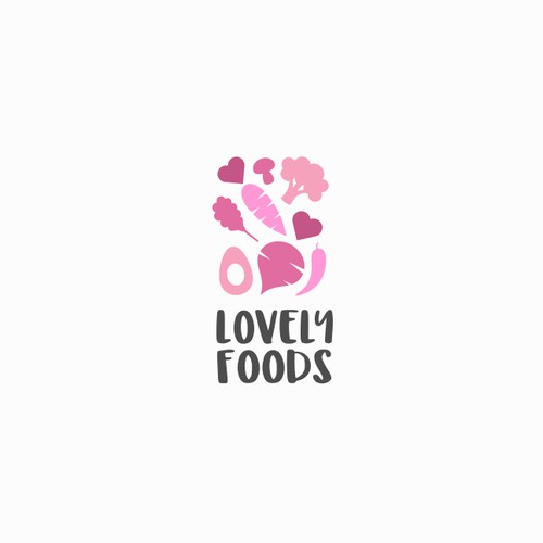 Logo for vegetable and fruit packaging company
