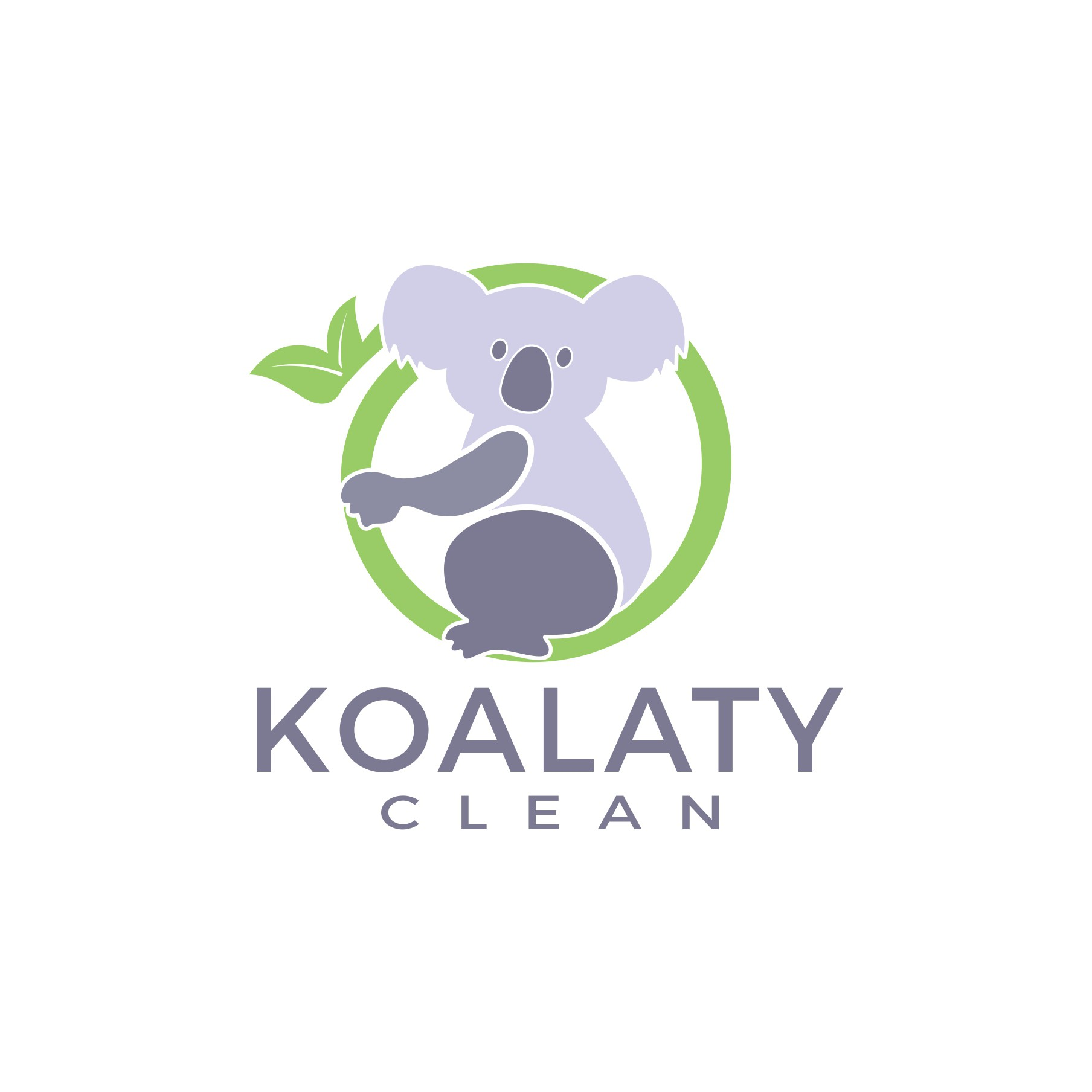 Design a classic and fun logo for Koalaty Clean!
