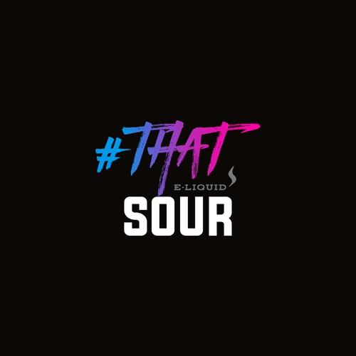 Trendy Logo Concept for E-Liquids Brand