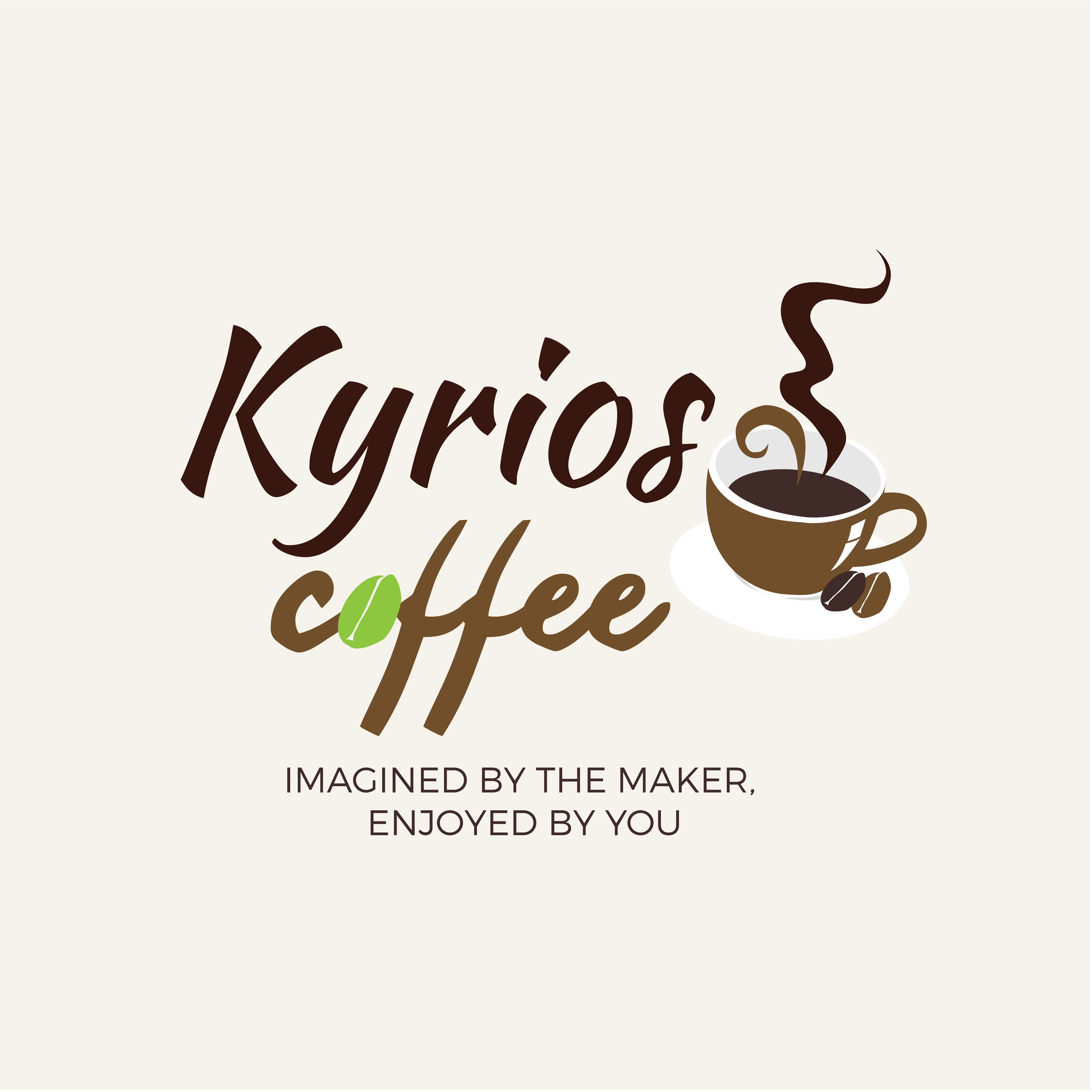 Kyrios Coffee - new business logo needed - potential for further design work